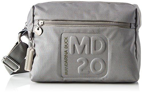 Mandarina DuckMd20 Tracolla - Borsa a tracolla Donna , grigio (grigio), 20.5x11x28 cm (B x H x T)