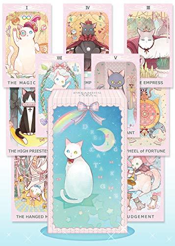 【日本語正規品】ドリーミング キャット ライダー版タロット 78枚セット DREAMING CAT TAROT タロットカード かわいい