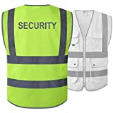 JKSafety 9 Pockets Class 2 Secur...