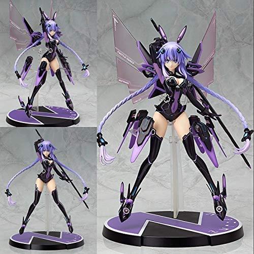 Kotee 24CM Anime-Abbildung Hyperdimension Neptunia: Purple Heart PVC Figur Spielzeug Zeichen Statue Figurine Model Collection Spielzeug Geschenk