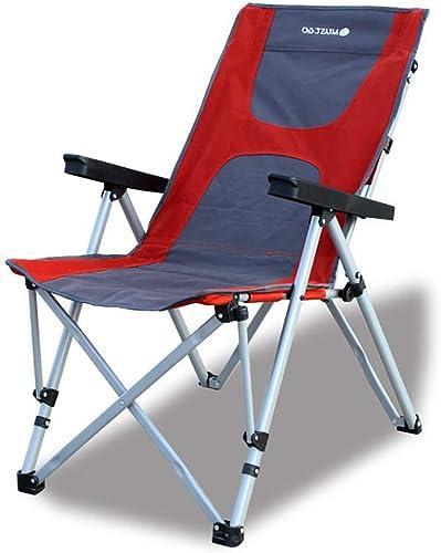 LLRDIAN Chaise Pliante réglable à l'arrière en Plein air, Chaise de Plage Portable, Chaise de pêche en Camping, Chaise de Directeur