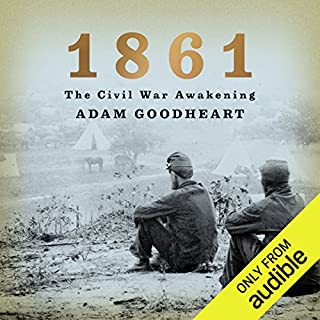 1861: The Civil War Awakening audiobook cover art