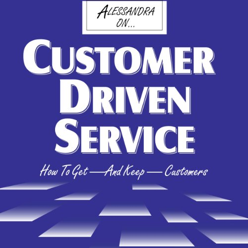 Customer-Driven Service audiobook cover art