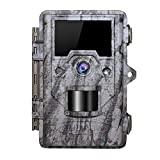 OUDMON Trail Game Camera 16MP 1080p 30fps FHD Waterproof IP67 Wildlife Scouting...