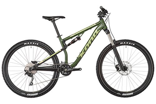 Kona precetto 130 MTB 27,5 'verde 2017 Full Suspension Enduro Bici, Green, M (59.3 cm)