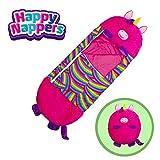 "Happy Nappers Pillow & Sleepy Sack- Comfy, Cozy, Compact, Super Soft, Warm, All Season, Sleeping Bag with Pillow- Medium 54"" x 20"", Pink Unicorn"