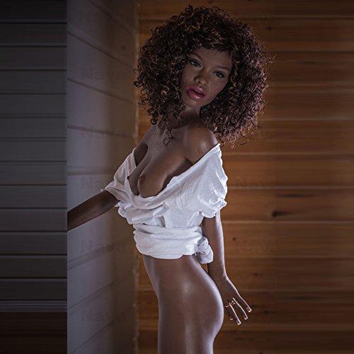 5. A-Cup Ebony Sex Doll