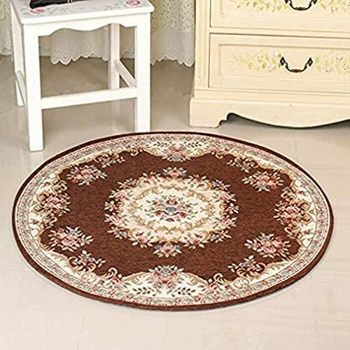 Alfombra de la alfombra redonda europea tradicional alfombra simple moderna sala de estar mesa de café de la cama de la cama de la cama de la cama de la silla de la cabina de la cabina de la cabina de