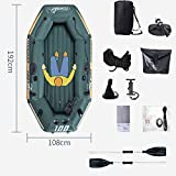 Inflatable Kayak 1 Person Blow Up K1 Kayak Sit On Top Kayak Fishing