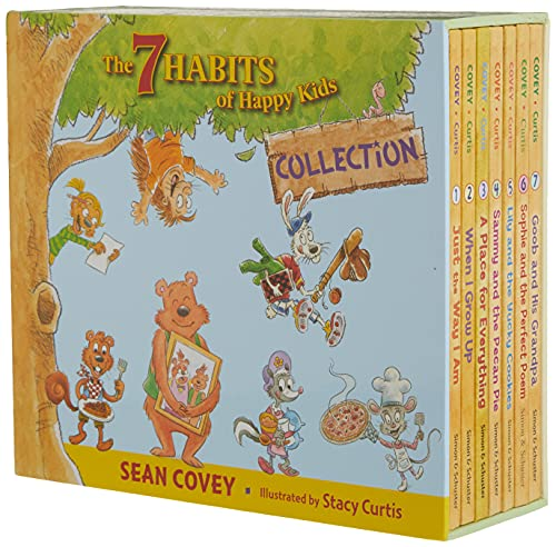 The 7 Habits of Happy Kids Collection: Just the Way I Am; When I Grow Up; A Place for Everything; Sammy and the Pecan Pie; Lily and the Yucky ... and the Perfect Poem; Goob and His Grandpa