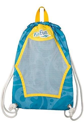 Fin Fun Mermaid Drawstring Backpack Swim Tote - Mermaidens Swim Accessories