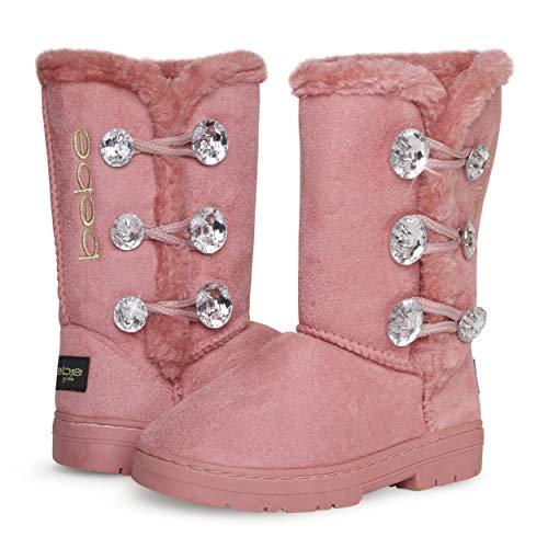 Pink Kid Boots Fur