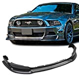 [GT-Speed] Compatible/Replacement for RTR Style PU Front Bumper Lip, 2013-2014 Ford Mustang USDM (Not Compatible With Shelby/GT500 Bumper)