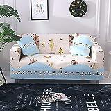 HIKO23 Funda elástica para sofá con impresión universal y todo incluido, tela, Winnie el Caribe, 1seat (36 '* 55')