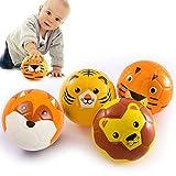 Schaumstoffball Baby Spielzeug Baby Ball Softball für die Kleinsten | mit weicher Füllung | Für...