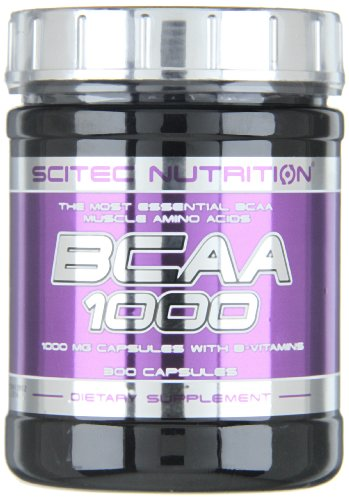 Scitec Nutrition Amino BCAA 1000, 300 Kapseln, 1er Pack (1 x 300g)