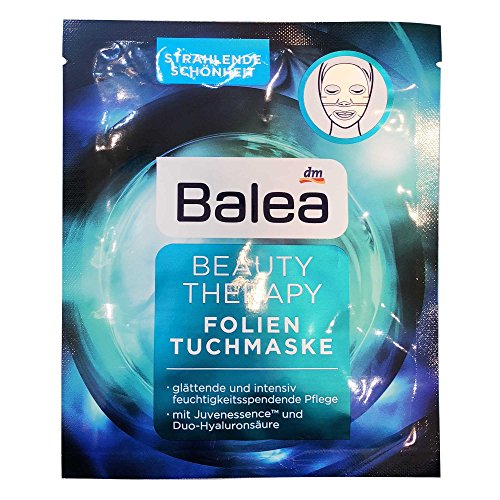 Balea Beauty Therapy Folien-Tuch-Maske, 1 St (1er Pack)
