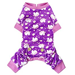 kyeese Dog Pajama Unicorn Soft Material Stretchable Dog Pajamas Onesie Pet Pjs for Fall Winter