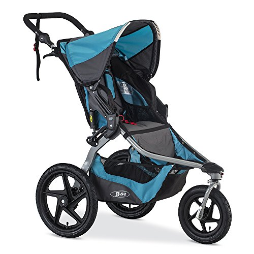 BOB Revolution Flex 2.0 Jogging Stroller - Up to 75 pounds - UPF 50+ Canopy - Adjustable Handlebar,...
