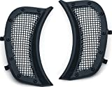 Kuryakyn 6519 Motorcycle Accessory: Mesh Headlight Vent Accents for 2015-19 Harley-Davidson Road...