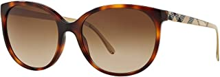 Burberry Women's Gradient BE4146-340713-55 Tortoiseshell Square Sunglasses