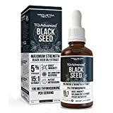 Black Seed Oil TQ Advanced - 5% Thymoquinone, Highest Concentration Available - 15:1 Concentrate from Nigella Sativa,...
