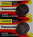 Panasonic Cr2032 3 Volt Lithium Coin Battery - Pack of 2