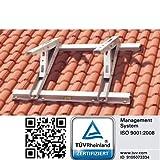 universelle Dachkonsole für Klimaanlagen Schrägdächer 9° bis 45°