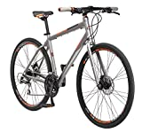 Schwinn Phocus 1500 Flat Bar Sport Fitness Hybrid Bicycle, Featuring...