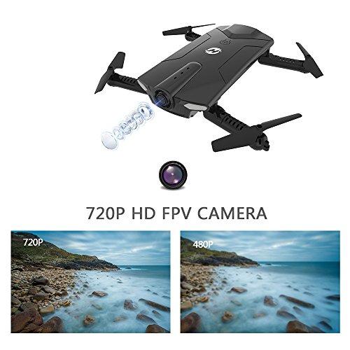 Drone pliable Holy Stone HS160 avec Caméra HD 720P WiFi FPV Vidéo en Temps réel - 4