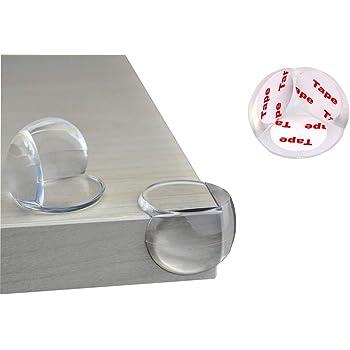 Protection Coin de Table,Transparent Protecteurs dAngle 12 Pack Silicone S/écurit/é Protege de Coin pour Adh/érence Tables et Tout Meubles Pointus pour Enfants et B/éb/é