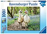 RAVENSBURGER PUZZLE 12941 Flauschige Freundschaft Ravensburger Kinderpuzzle 12941-Flauschige 100 Teile XXL-Puzzle für Kinder ab 6 Jahren, Yellow