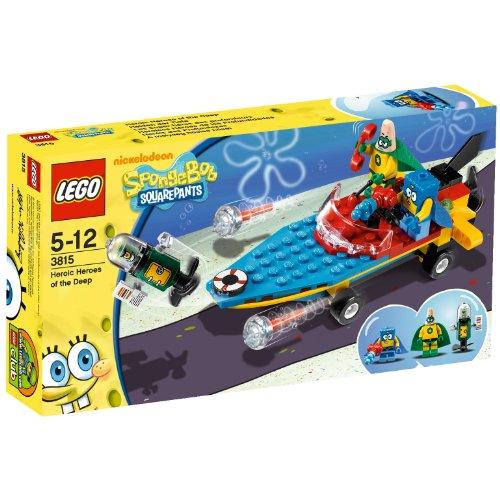 LEGO Bob Esponja 3815 - Heroicos Héroes de Las Profundidades