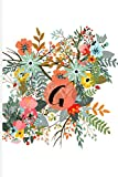 Letter G Girls / Women Blank Monthly Planner: Bright Composition Gift For Students or Professionals For Lilac Sunday Or National Fruitcake Day Or Patriot'S Day