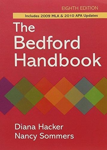 Bedford Handbook 8e paper & E-Book
