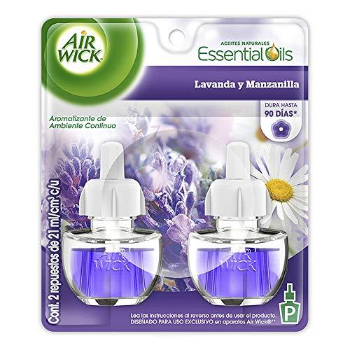 Air Wick Repuesto para Aromatizante Eléctrico, Lavanda Manzanilla, 21ml