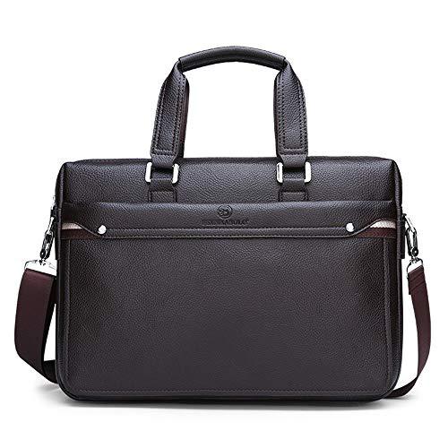 Yuzha handtas van leer, eenvoudige handtassen, beroemd merk, zakelijke tas, heren, laptoptas, casual, man, kantoor, schoudertas