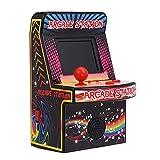 Haihuic Retro Mini-Arcade-Spielautomat, 200 Klassische Handheld-Videospiele, tragbarer Arcade für...