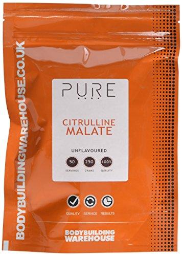 Bodybuilding Warehouse Pure Citrulline Malate Powder Unflavoured 250 g