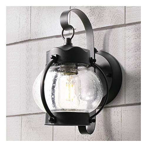 Outdoor balklicht met wandbevestiging E26 6 W heeft de lamp zwart tegen schimmel waterdicht voor tuin, veranda, Villa Corte-Yard [energieklasse A+]