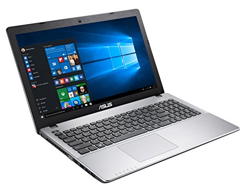 ASUS K550VX-GO405T 2.8GHz 500GB HDD i7-7700HQ Computer Portatile Notebook 15.6' 1366 x 768Pixel, Acciaio Inossidabile, Grigio