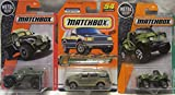 Matchbox Military Police Ford Expedition, Cliff Hanger & Road Raider Die Cast 1/64 Scale 3 Car Bundle!