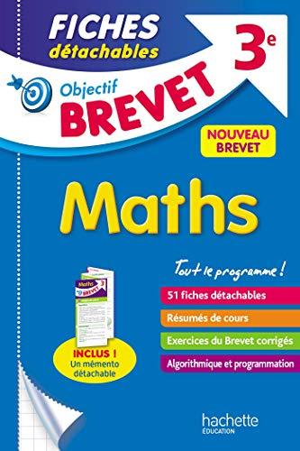 Objectif Brevet 3e - Fiches détachables Maths