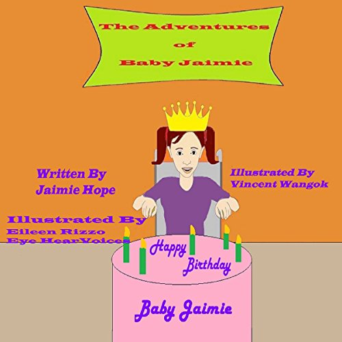 Happy Birthday Baby Jaimie audiobook cover art