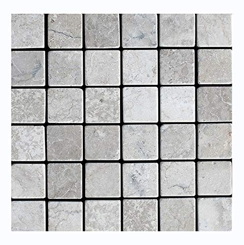 Mosaikfliesen - PA-803 - Antik-Marmor Mosaik Wandfliesen Bodenfliesen Naturstein Fliesen Lager Verkauf Stein-mosaik Herne NRW