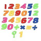 FOY Mini Pegatinas Letras inglesas Número árabe Niños Regalos educativos Números árabes Multicolores