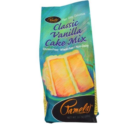 Pamela's Products Gluten-Free Cake Mix Vanilla -- 21 oz