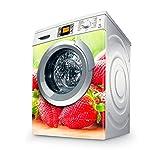 setecientosgramos Vinilo Lavadora | Stickers Washing Machine| Pegatina Lavadora | Strawberries