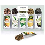 Best Loose Leaf Green Teas - Tea Forte Single Steeps Loose Leaf Tea Sampler Review