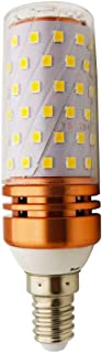 E14 LED maíz bombilla 16W, 3000K Blanco cálido LED Bombillas, 160W Incandescente Bombillas Equivalentes, E14 Bombillas, 1600lm, Edison Tornillo Bombillas LED, 1-pack